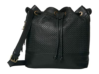 FRYE AND CO. Anise Bucket Bag (Black) Handbags