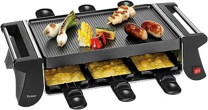 Trisa Electronics Racletto Sei Raclette, 800 W, Noir
