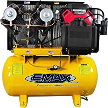 18 HP Gas Air Compressor, 30-Gallon, Horizontal, Electric Start, Industrial Plus Series, Model EGES1830ST by EMAX Compressor