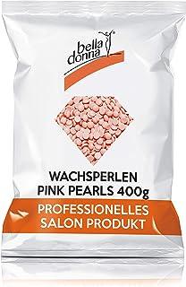 Bella Donna - Perlas de cera depilatoria, color rosa, para