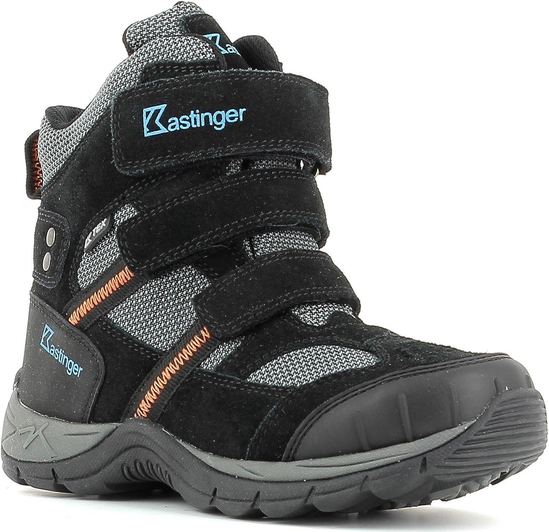Kastinger Mountain - Kids Winter Boots Black
