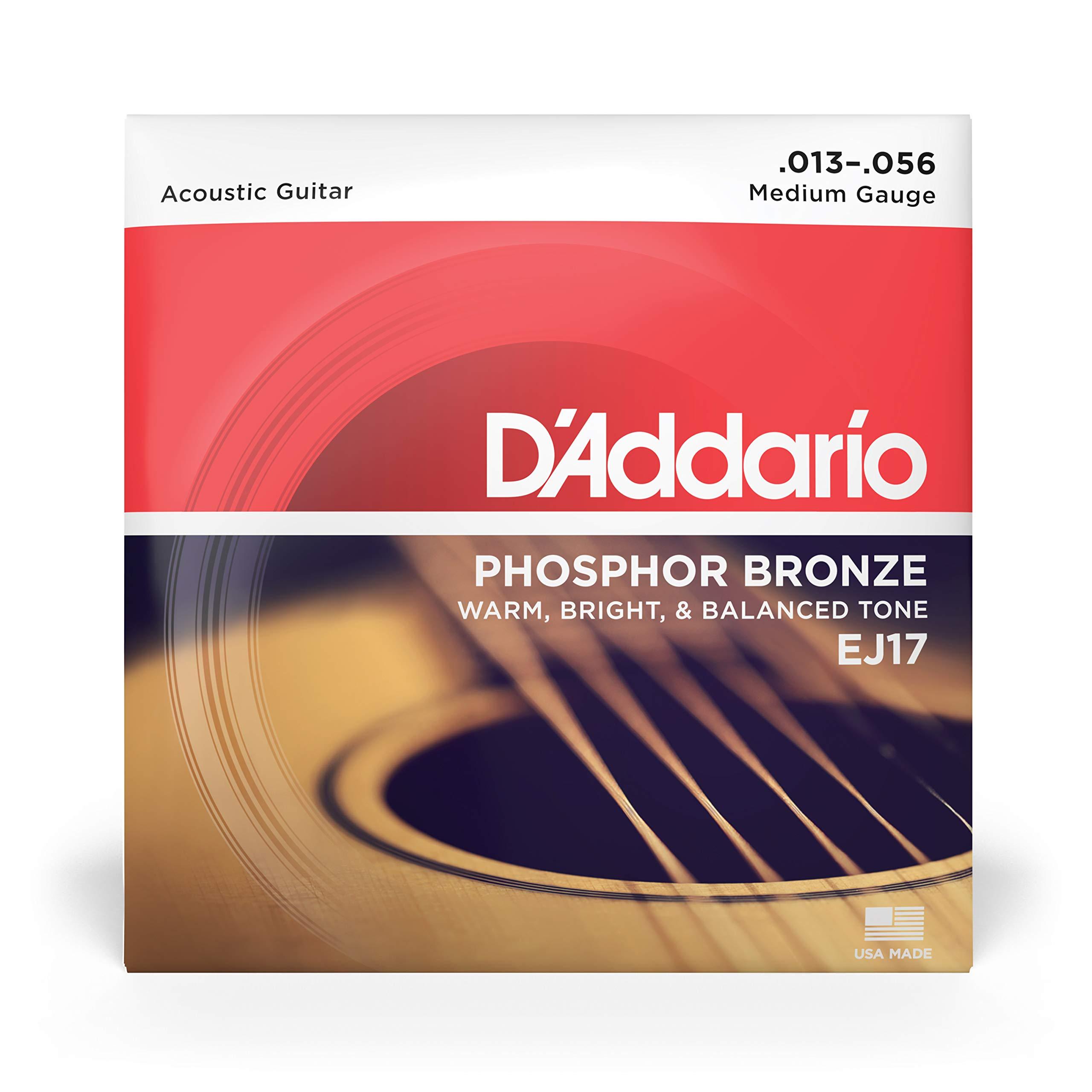 DAddario EJ17 Juego de Cuerdas, Naranja: Amazon.es: Instrumentos musicales