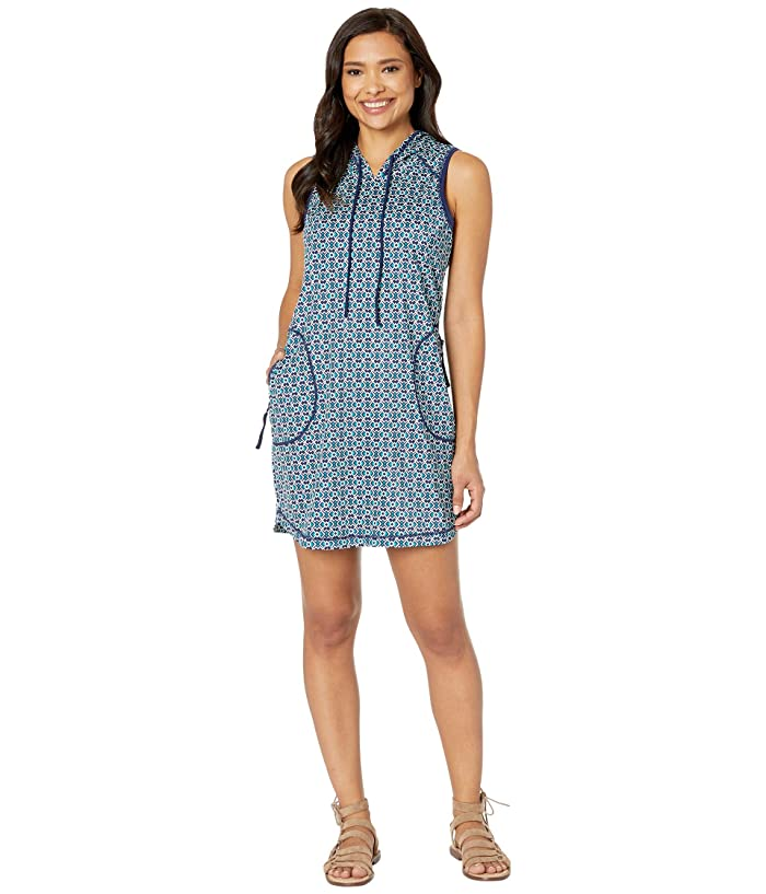 Tommy Bahama Active Hooded Spa Dress (Mare Navy) Women