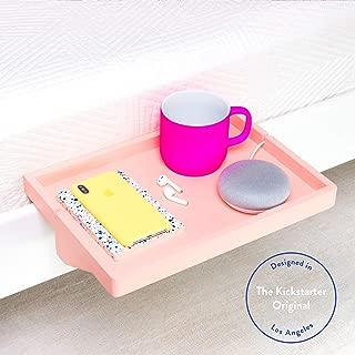 BedShelfie The Original Bedside Shelf - 9 Colors / 2 Sizes - AS SEEN ON Business Insider (Original Size, Bamboo in Rose)