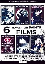 6 20th Century Saints Films, 6 DVD Box Set, Edith Stein, Maxmilian Kolbe, Faustina, Padre Pio, Therese of Lisieux, Jacinta of Fatima, Saints, WW2, Nazi
