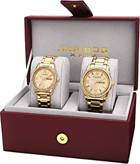 Best couple watches gold Reviews