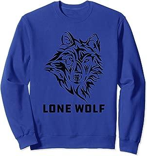 Lone Wolf Tribal Northern Men Women Boys Kids Sweatshirt