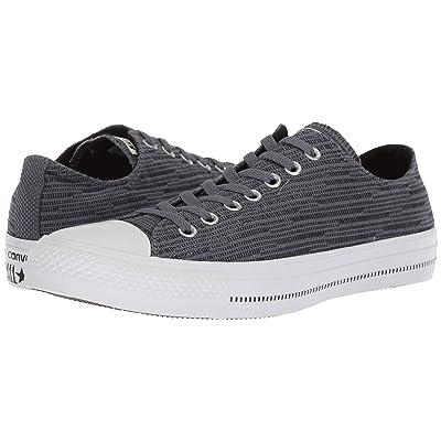 Converse Chuck Taylor(r) All Star(r) Fashion Textile Ox (Light Carbon/Black/White) Shoes