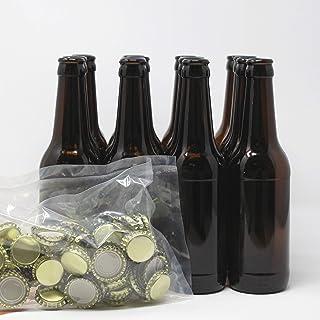 Set Botellas y chapas para elaborar cerveza en casa | El complemento perfecto | Envasa el