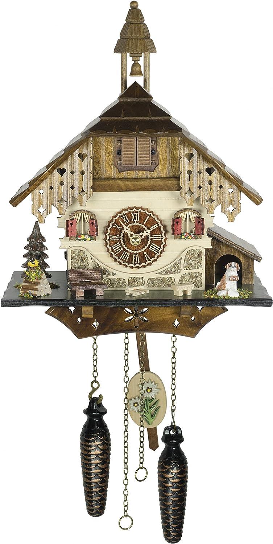 Trenkle Quartz Wholesale Cuckoo Clock Black Forest with 423 House TU Music security