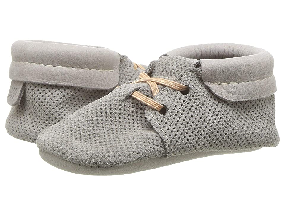 Freshly Picked Soft Sole Oxfords (Infant/Toddler) (Cloudy Day) Kid