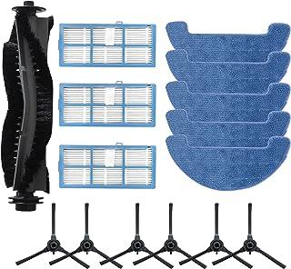 Zealing Lot de 15 brosses latérales pour aspirateur Hosome G9070