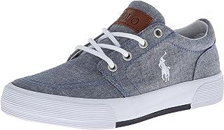 Polo Ralph Lauren Kids Faxon II Chambray Sneaker (Toddler/Little Kid/Big Kid)