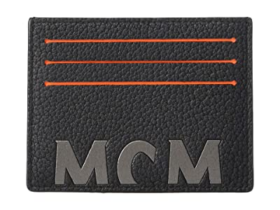 MCM New Big Logo Card Case Mini (Black) Coin Purse