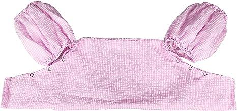 THOUSMOON Toddler Kids Gingham Seersucker Flotation Device Cover Baby Swim Puddle Jumper Cover Life Jacket/ Life Vest (Pink)
