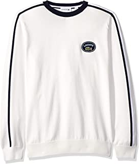 Lacoste Men's Long Heritage France Sleeve Stripe Sweater
