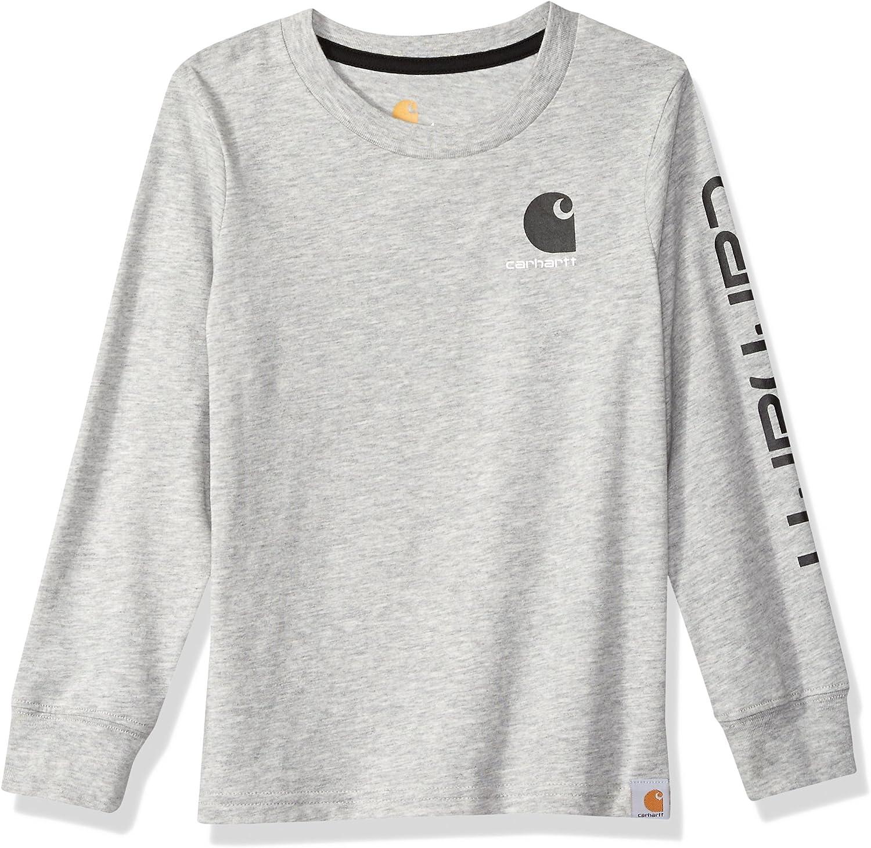 Carhartt Boys Long Sleeve Graphic T-Shirt
