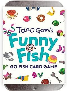 Chronicle Books Taro Gomi's Funny Fish: Go Fish Card Game: (Stocking Stuffer, Kid's Gift, Birthday Gift, Art Cards)