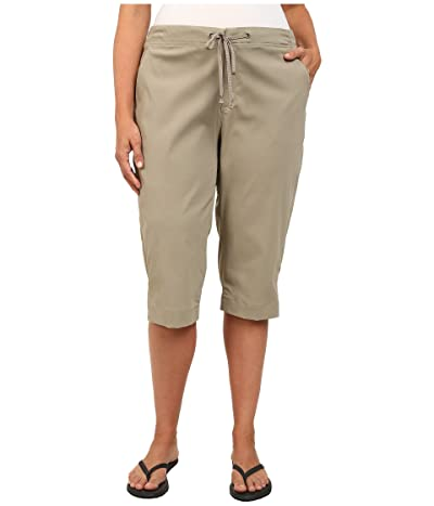 Columbia Plus Size Anytime Outdoor Capri (Tusk) Women