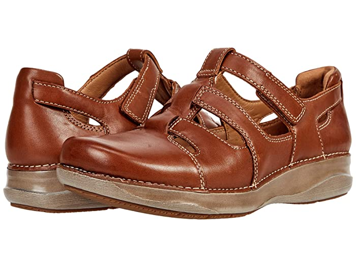 70s Clothes | Hippie Clothes & Outfits Clarks Appley Strap Womens Shoes $130.00 AT vintagedancer.com
