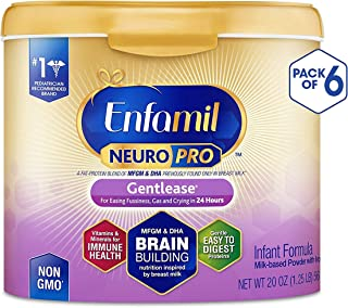 enfamil gentlease 6 pack