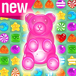 Soda Pop! - Candy Gummy Bear Free Match 3 Puzzle Game