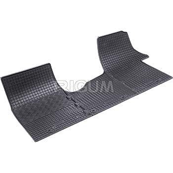 Auto Fußmatten Von Fabbri 3 Rigum903041 Maßgeschneidert Aus Echtem Gummi Geruchlos Schwarz Auto