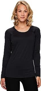 RBX Active Women's Long Sleeve Super Soft Space Dye Workout Running Tee Shirt