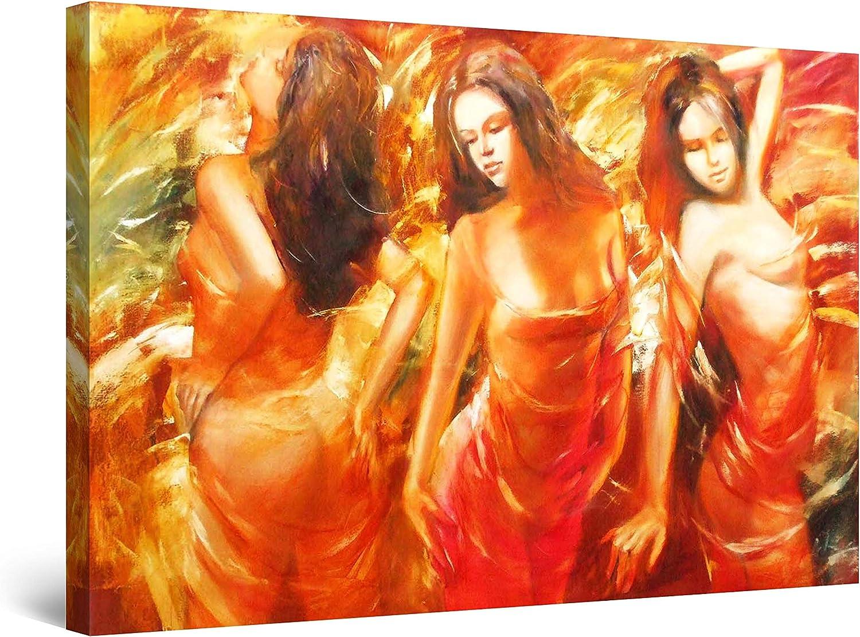 Startonight Canvas Wall Art Abstract - Times Women Red 数量限定アウトレット最安価格 5 日時指定 Paintin