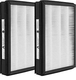 Replacement HEPA A Size Filter, Compatible with Filtrete and Idylis Room Air Purifier Devices, 2 Pack