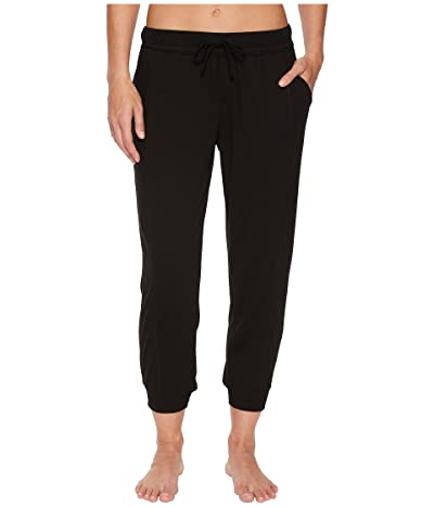 Splendid Always Crop Lounge Jogger (Black) Women