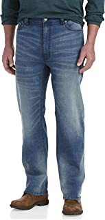 True Nation by DXL Big and Tall Athletic-Fit Stretch Jeans, Rockin Blue