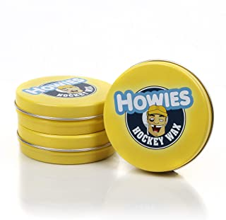 Howies Hockey Tape - Hockey Stick Wax (3 Pack) Maximized Grip for Hockey Stick Blade. Protects Blade and is The Most Wate...