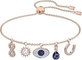 Women's Symbolic Evil Eye Crystal Jewelry Collection
