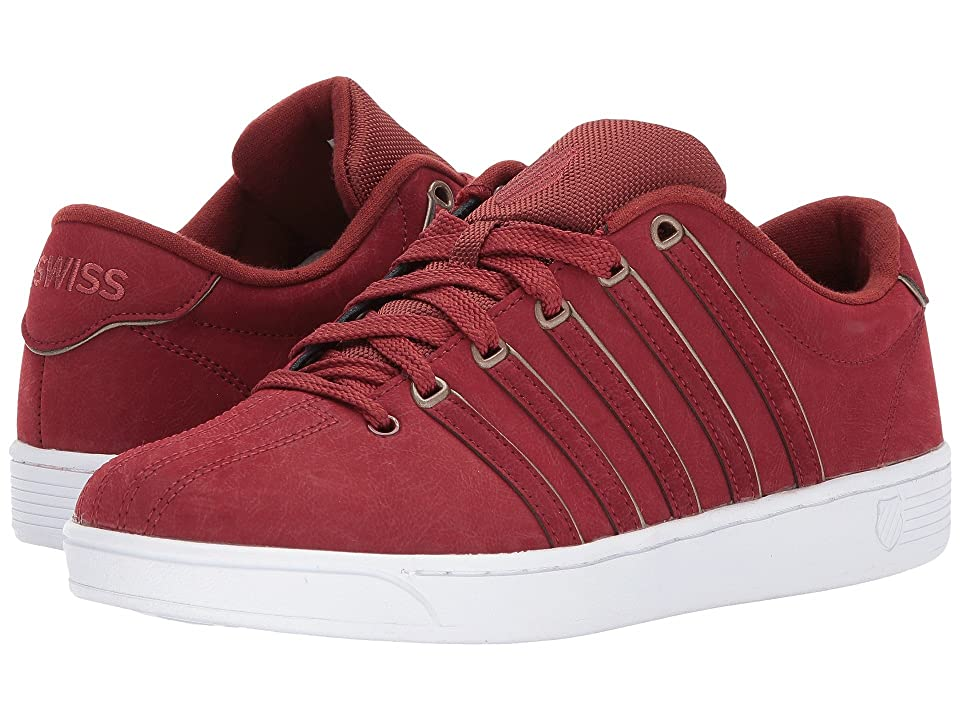 K-Swiss Court Pro II SP PCMF (Firebrick/White) Men