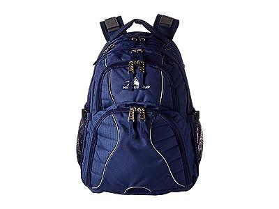 High Sierra Swerve Backpack (True Navy) Backpack Bags