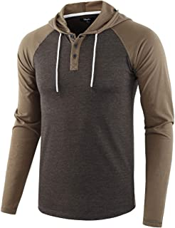 Mens Casual Athletic Fit Lightweight Active Sports Jersey Shirt Hoodie