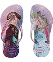 Havaianas Kids - Slim Princess Disney Flip Flops (Toddler/Little Kid/Big Kid)