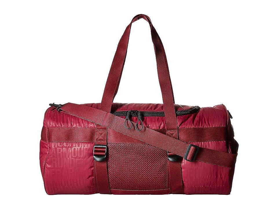 Under Armour UA Motivator Duffel (Black Currant/Black Currant/Black) Duffel Bags, Red