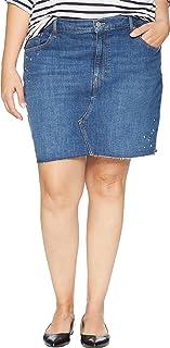 Levi's Women's Plus Size Deconstructed Skirt