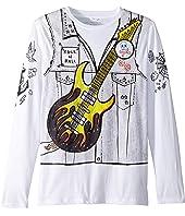 Stella McCartney Kids - Barley Guitar Rocker Long Sleeve Tee (Toddler/Little Kids/Big Kids)