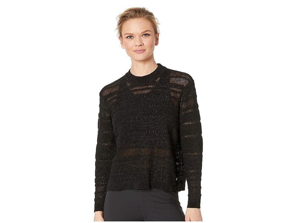 New Balance Sheer Studio Sweater (Black) Women