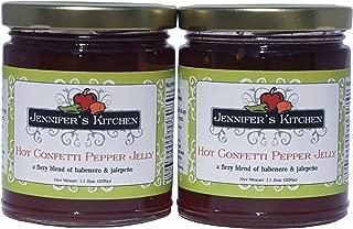 Jennifer's Kitchen Hot Confetti Pepper Jelly (Pack of Two)