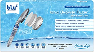 Ionic Shower Filter - Skin & Hair Care, Stop Hair Loss & Rejuvenate Your Skin - Handheld