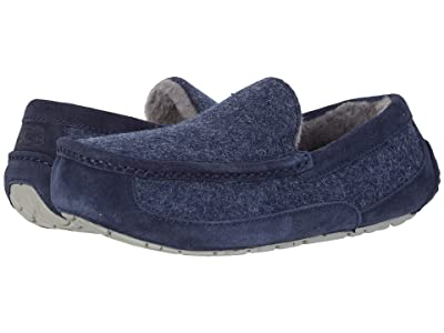UGG Ascot Wool (Dark Sapphire) Men