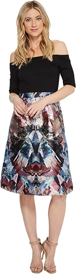 Ted Baker - Keris Mirrored Minerals Tulip Dress