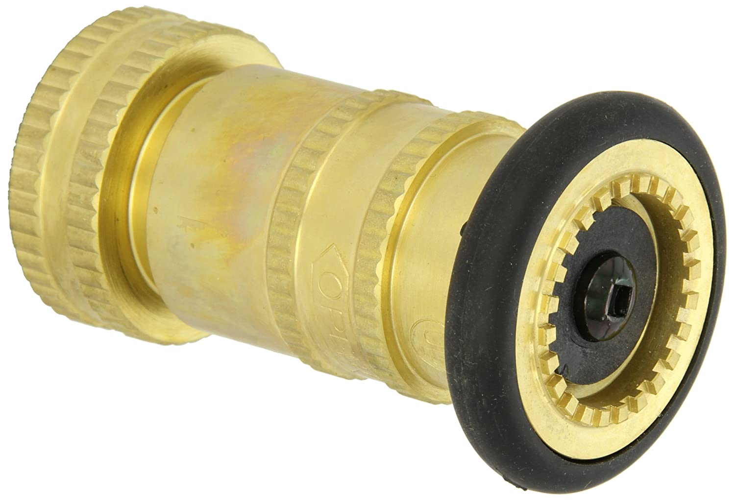 Moon 7171-1521 Brass Fire Hose Nozzle gpm Fog 1 Fort Worth Mall Industrial 85 New product