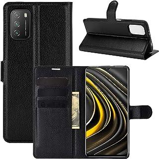 """Capa Capinha Carteira 360 Para Xiaomi Poco M3 com Tela de 6.53"""" polegadas - Case Couro Flip Wallet Anti Impacto - Danet (P..."""
