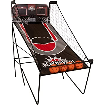 Triumph Play Maker Double Shootout Basketball Game Includes 4 Game-Ready Basketballs and Air Pump and Needle