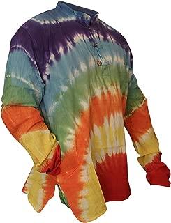 SHOPOHOLIC FASHION Mens Tyedye Shirt